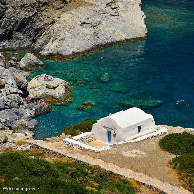 Amorgos island, Cyclades, Greece  Agia Anna beach by D. Evangelopoulos for @dreamingreece -  Find the ideal destination for your holidays and explore the beauties of Greece.  Plan and book your holidays in Greece... http://www.dreamingreece.com/greek-islands/cyclades/amorgos-island - #greece #amorgos #holidaysingreece #dreamingreece #greekislands