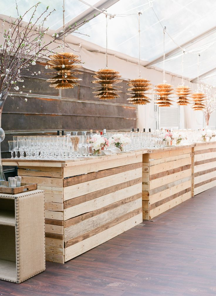 THE coolest wedding bar. yes please.
