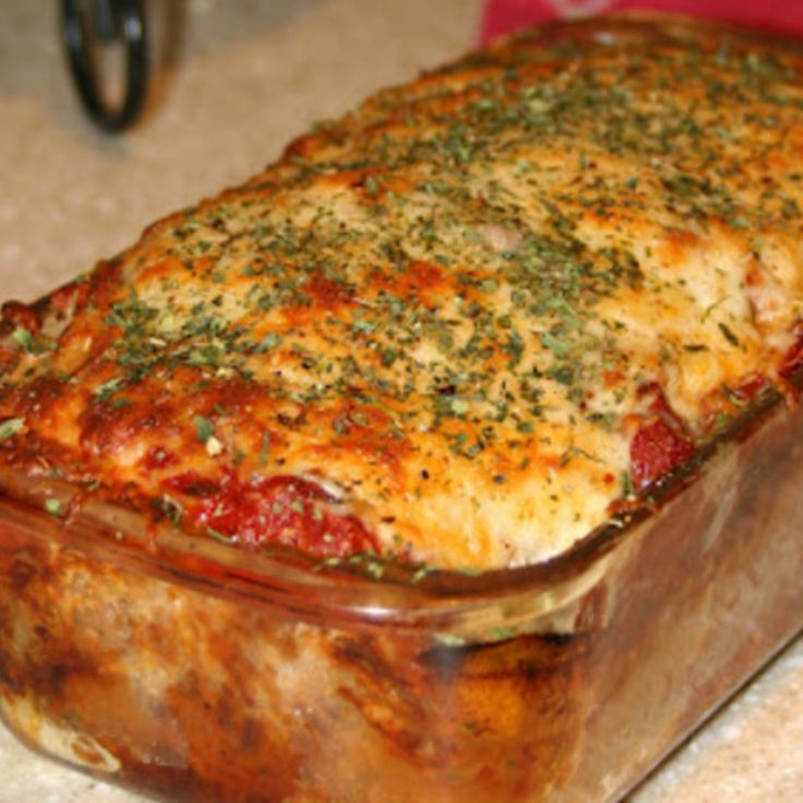 Parmesan Meatloaf {Gluten Free} Recipe | Just A Pinch Recipes