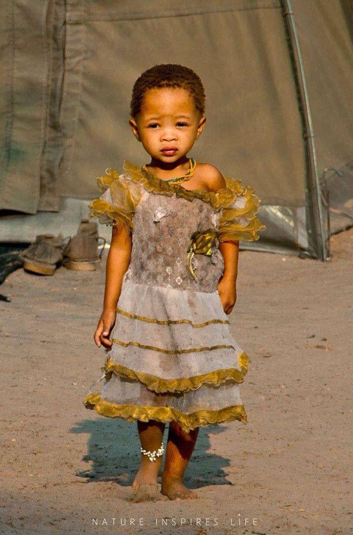 Beautiful little girl( Khoisan)
