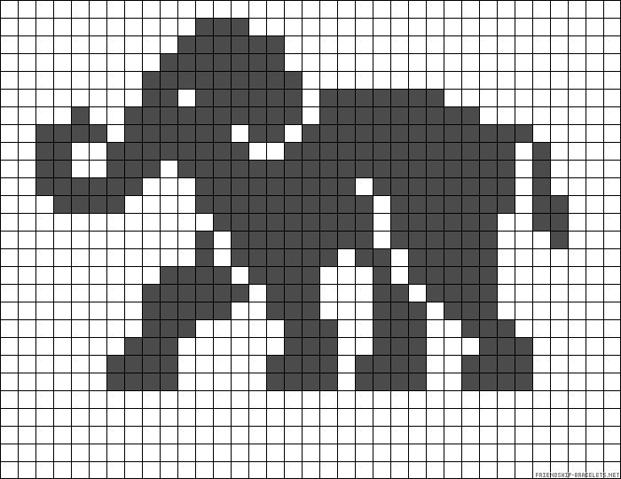 it's a bead pattern, but this would make a cute filet piece.
