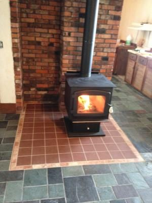 This Drolet Myriad High Efficiency Wood Stove Is Mobile