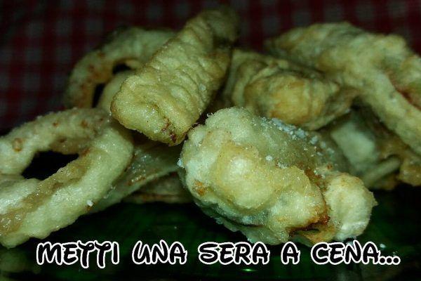 """""""tempura"""": un fritto leggero e croccante"""
