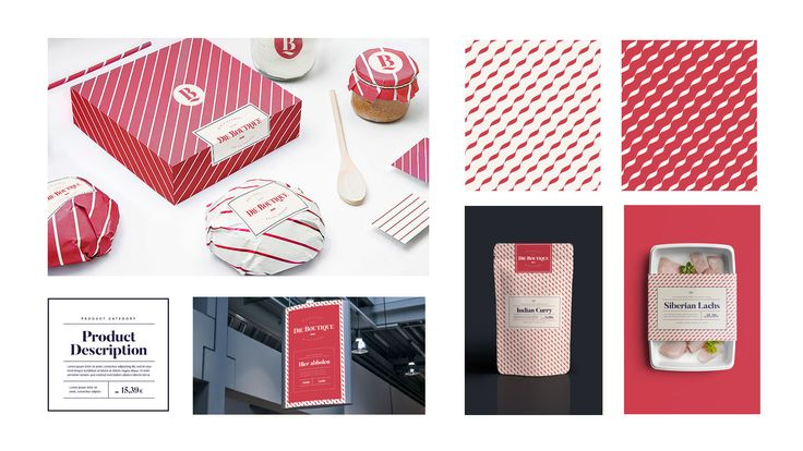 Pitch key visuals and designs for the premium branch of REWE Supermarkets. Focused on exclusive prime products, Die Boutique is an in-store brand attached directly to the REWE's world.