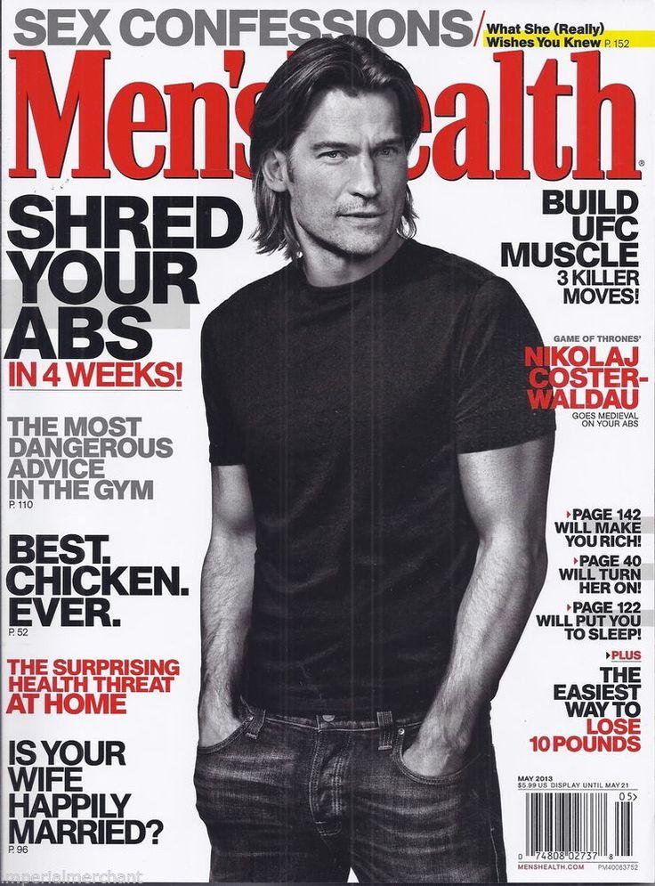 Nikolaj Coster Waldau in Men's Health magazine