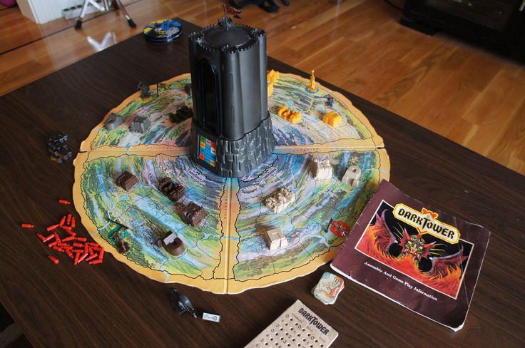 Dark Tower 80's board game. Garands Garands!!!