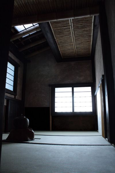 Traditional Japanese tea ceremony room