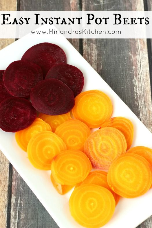 Beets are flavorful and healthy. They make a great snack or addition to your dinner table and are ready quickly in an Instant Pot pressure cooker.  Toddler approved!