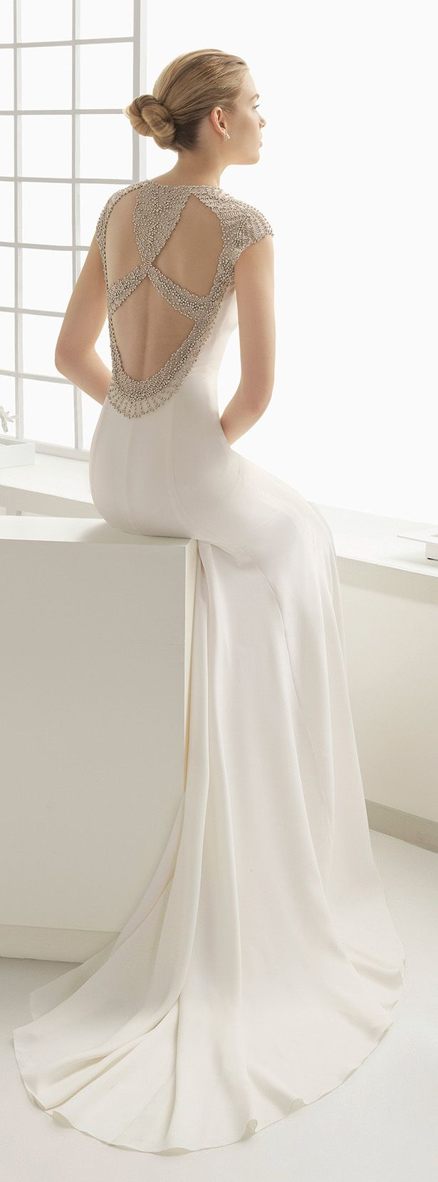 vestido de novia de Rosa Clara Primavera 2016