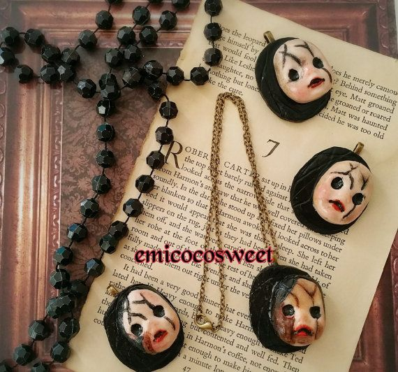 Check out this item in my Etsy shop https://www.etsy.com/au/listing/280341092/doll-face-jewelleryzombie