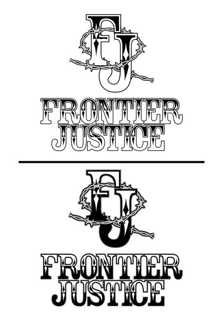 Frontier Justice needs a new logo by fightgraphx