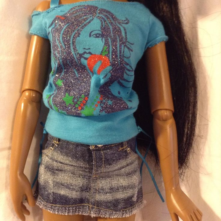2008 Hasbro Lorifina Doll***make something similar for Kat/April***