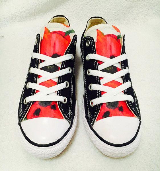 Schuhe - schöne jugendliche Converse Chucks Schuhe Gr. 34!! - ein Designerstück von Glam-DuJour bei DaWanda