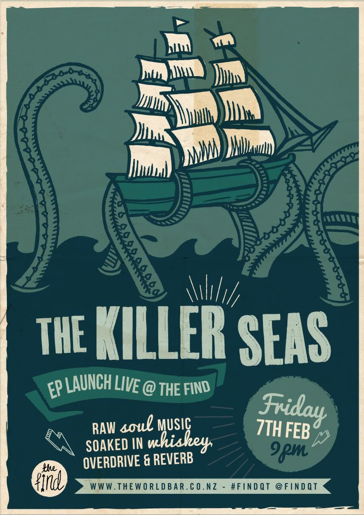 World Bar Queenstown - Killer Seas EP Launch