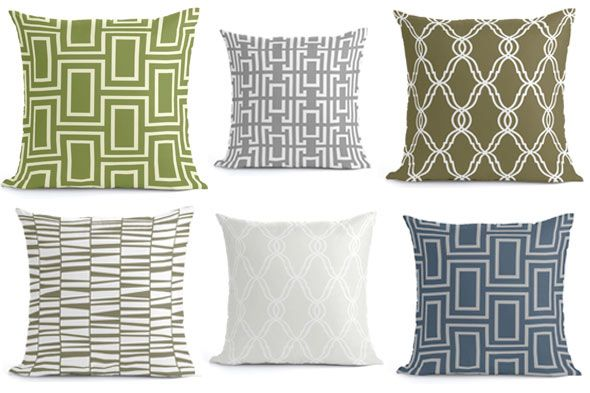 Throw Pillow Color Ideas : Jeff Lewis throw pillows calming colors Hillview Ideas Pinterest Colors, Calming colors ...