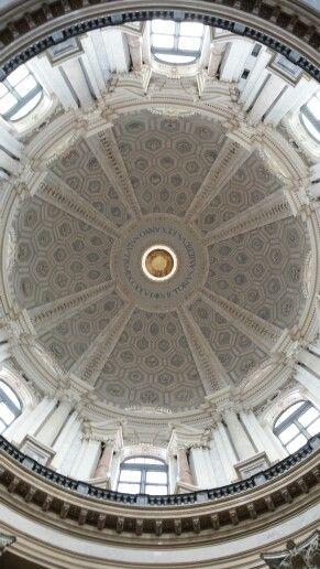 Basilica di Superga, particolare cupola interna.
