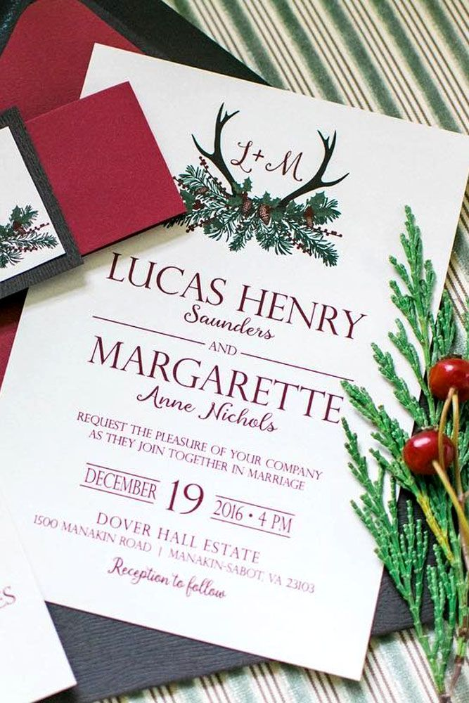 the 25+ best winter wedding invitations ideas on pinterest, Wedding invitations