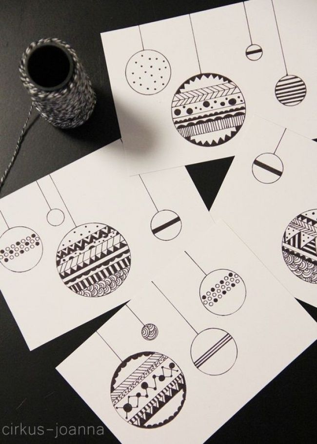 40Tarjetas para estas fiestas decembrinas que puedes hacer con loque tengas alamano