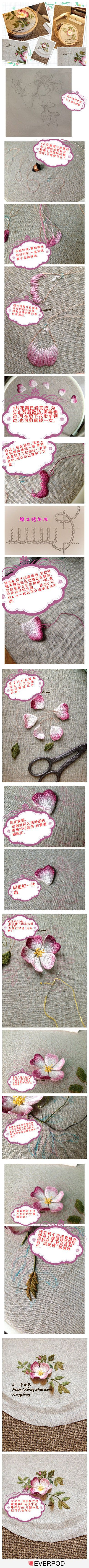 Really want to try this..  Use wire for the initial outline to keep shape after cutting fabric,