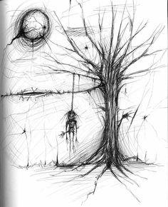 Creepy Drawing Ideas Related Keywords & Suggestions - Creepy ...