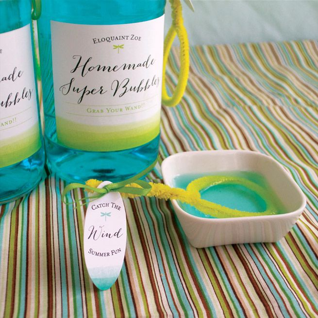 Homemade Super Bubbles from My Own Ideas blog #craft #kids #diy