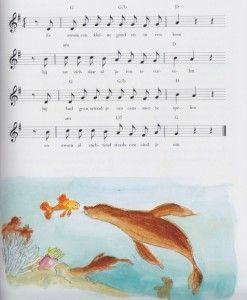 Allerlei liedjes over vissen