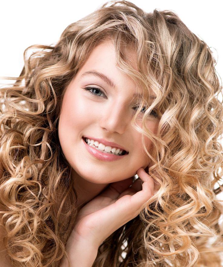 Curly Perm Thick Medium Length Hair Google Search Perm