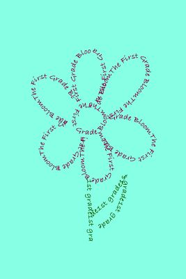 The First Grade Bloom: Saturday Apps #7  TypeDrawing is a fun concrete poetry creator!