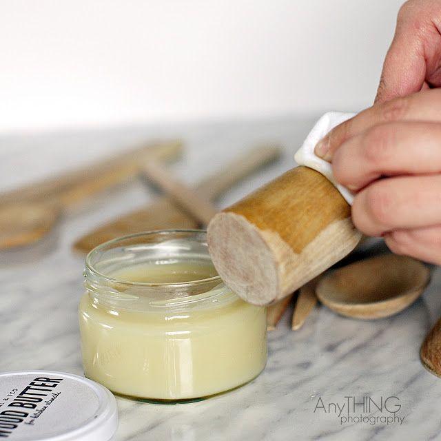 ANY-BLOG: drewniANY PORADNIK - DIY - jak zrobić domowy naturalny wosk do drewna