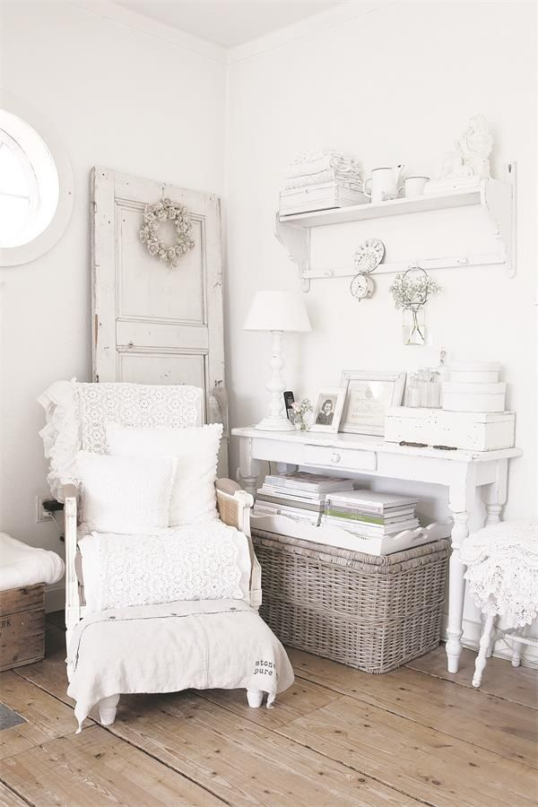 846 best shabby chic white images on pinterest. Black Bedroom Furniture Sets. Home Design Ideas