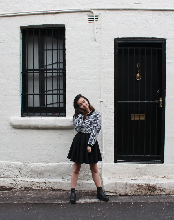 OUTFIT | MONOCHROME