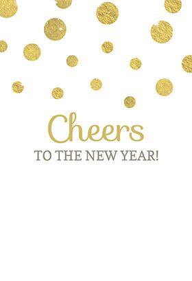 """""""Cheers to the new year"""" printable invitation. Customize, add text and photos. print for free! #New year #Invitation"""