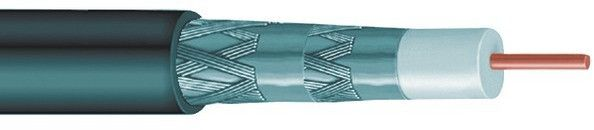 Vextra - RG6 Quad Shield Cable, 1,000 ft