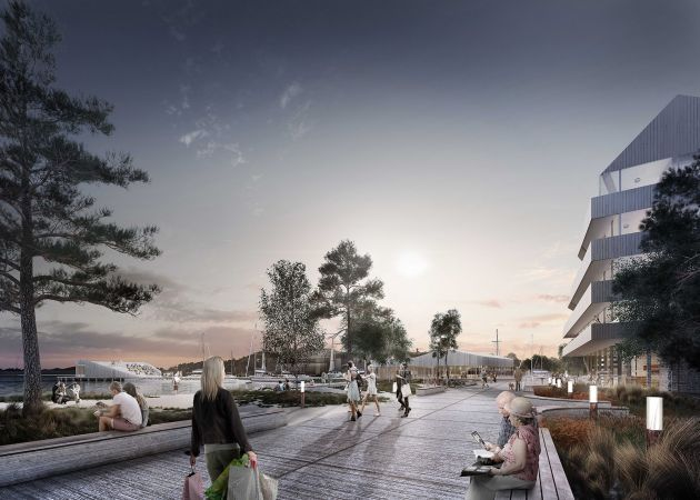 CGarchitect - Professional 3D Architectural Visualization User Community | Waterfront Renewal - Finland - 2016