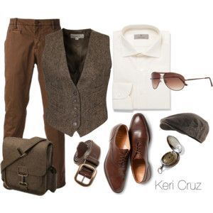 Liked on Pinterest: Men's Business Casual - Polyvore