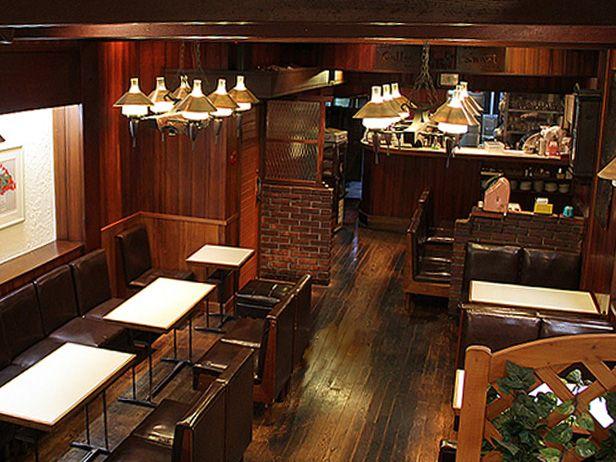 [スマート珈琲店] 1932創業、京都三条の喫茶店 ・・・ 名物 : パンケーキ