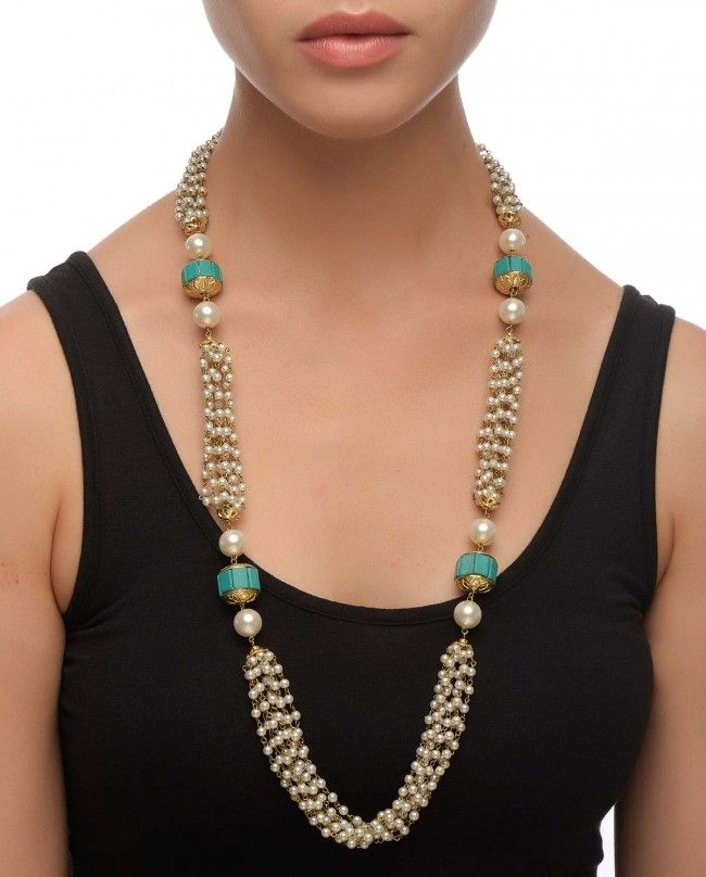 Beaded Necklace With Motifs