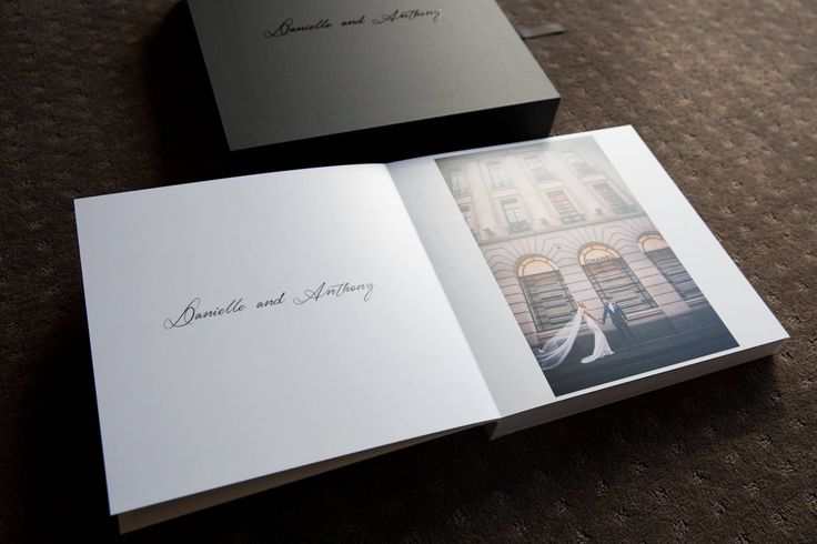 Satin finished pages make the whole album luxurious...