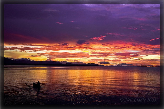 Sunset at Tolitoli, CentraL SuLawesi, Indonesia