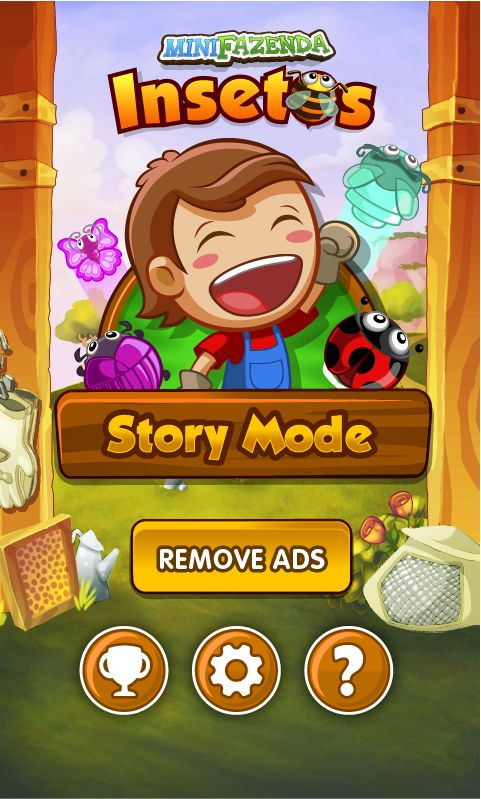 GUI Design - Fazenda Mobile by Lucas Bellett, via Behance