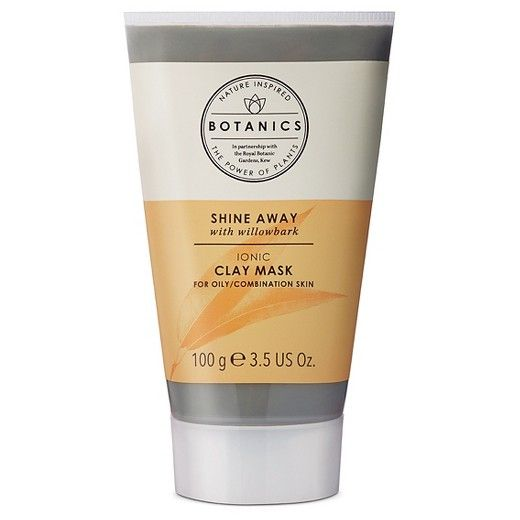 Botanics Shine Away Clay Mask, leaves skin clearer, softer and smoother. This mineral-rich oceanic clay mask contains a negative electrical charge which acts like a magnet, helping to draw deep-rooted impurities out of the skin without drying. Its hydrating and oil absorbing properties leave skin soft, smooth and wonderfully cleansed.