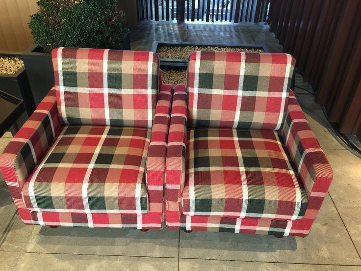 crestbridge check sofa