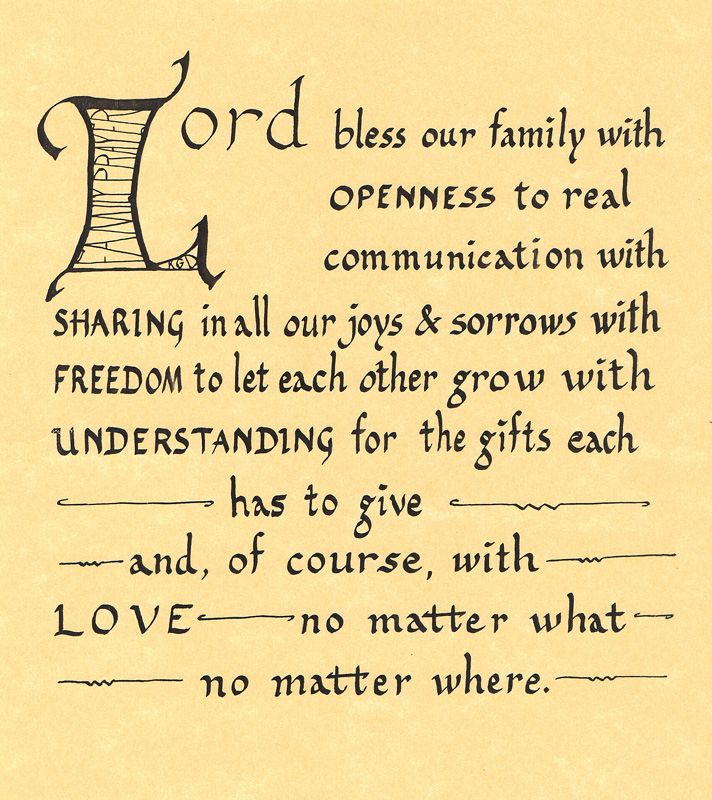 blessing for household and family biblical Portfolio