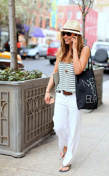 Casual #fashion, i like the hat.