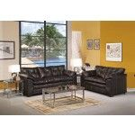 Acme Furniture - Hayley Onyx Bonded Leather Sofa and Loveseat Set - 50350-50351  SPECIAL PRICE: $1,087.66