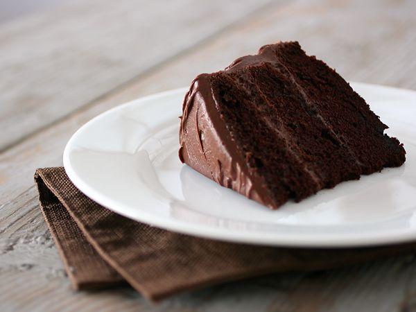 That Chocolate Cake, Winner of the Scharffen Berger Chocoholic's Overdose