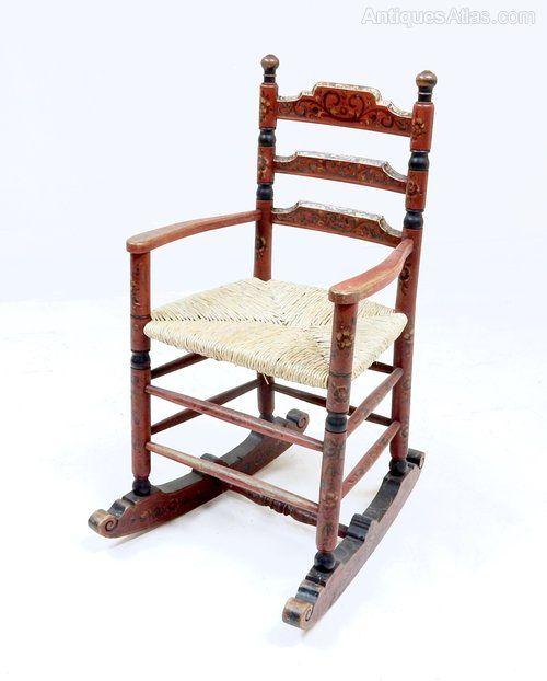 Scandinavian Rocking Chair - Antiques Atlas
