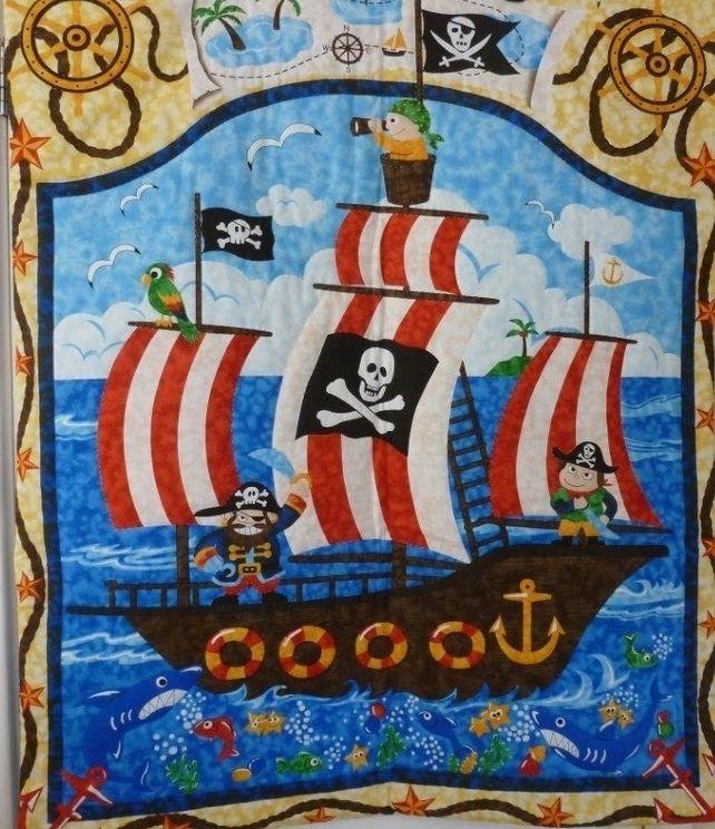 Pirate Quilt £37.50