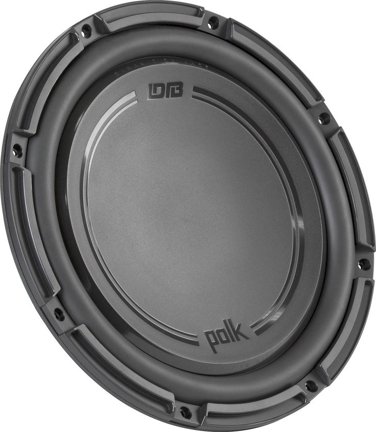 Hard-hitting bass Polk Audio's DB+ Series subwoofers combine high-tech materials and advanced design to give you smooth, powerful, hard-hitting bass without stressing your wallet. The DB 1242 DVC