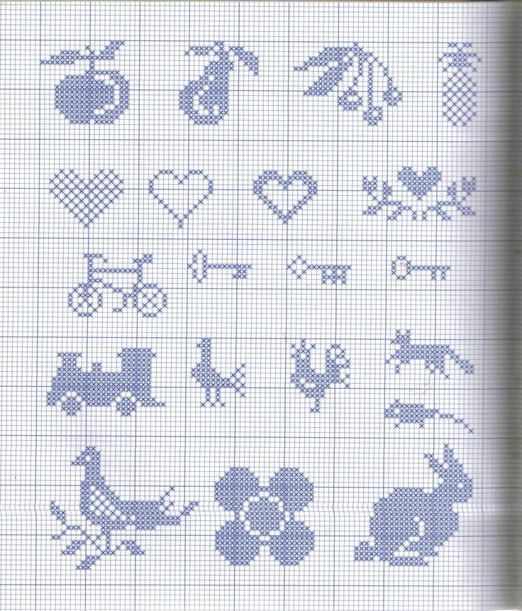 fruits keys cross stitch